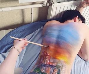 art, beauty, and boy image