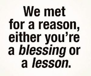 quotes, blessing, and lesson image