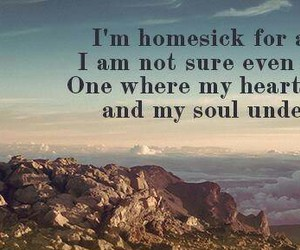 homesick and quote so true image