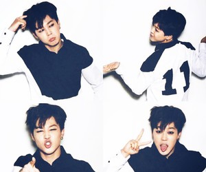 bts, jimin, and bangtan boys image
