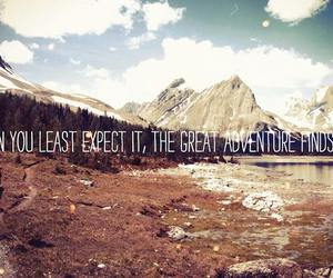 adventure, life, and qoute image