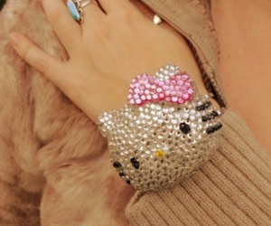 hello kitty and bling image