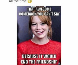 friendship, funny, and awesome image