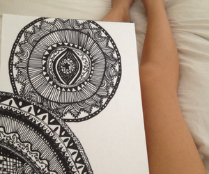 drawing, art, and legs image