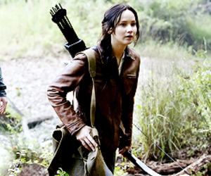 the hunger games, katniss, and Jennifer Lawrence image