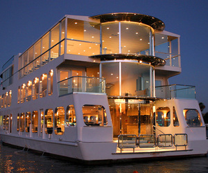 luxury, yacht, and sea image
