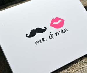 lips, tumblr, and moustache image