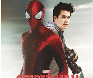 spiderman and dylan o'brien image