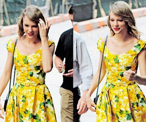 Taylor Swift, yellow, and bright image