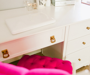 pink, decoration, and decor image