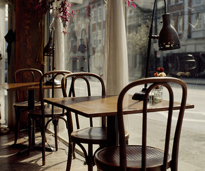 cafe and chair image