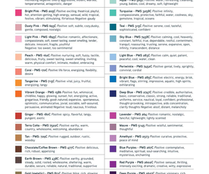 psychology and color image
