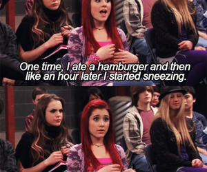 ariana grande, victorious, and cat valentine image