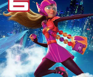 disney, big hero 6, and honey lemon image