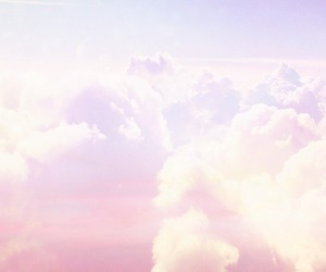pink, clouds, and purple image