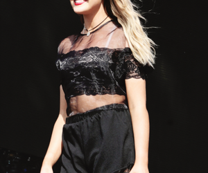 blonde, smile, and perrie edwards image