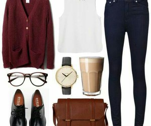 outfit, oxford shoes, and hipster outfit image