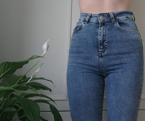 jeans, pale, and grunge image