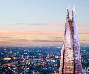 london and the shard image