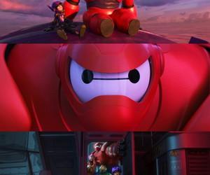 hiro, big hero 6, and baymax image