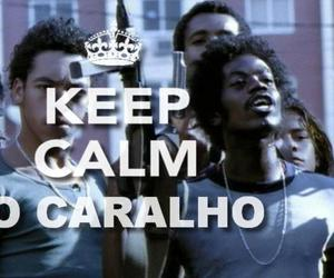 keep calm and ze pequeno image