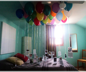 balloons and photos image