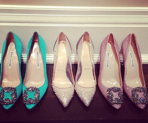 chic, crystals, and louboutin image