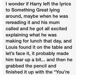 tumblr, larry, and louis tomlinson image