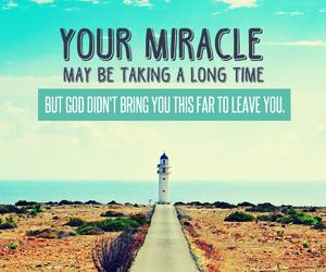 miracle, faith, and god image