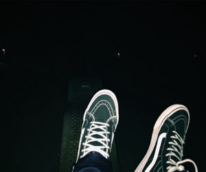 night, teen, and shoes image