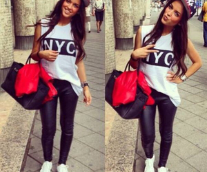 fashion, style, and nyc image