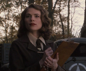 peggy carter, agent carter, and captain america image