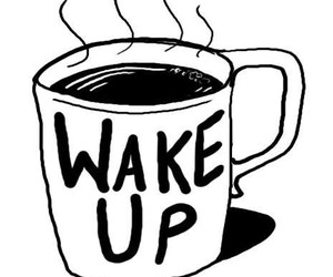 coffee, wake up, and morning image