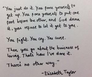 quote and Elizabeth Taylor image