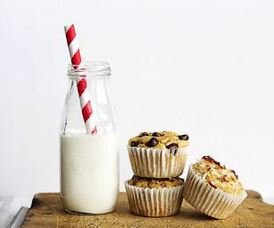 milk and muffins image