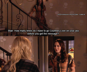 blair waldorf and gossip girl image