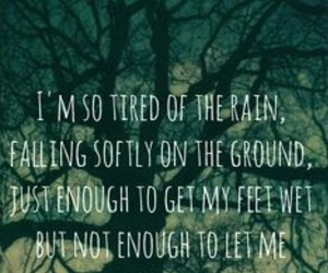 drown, Lyrics, and front porch step image