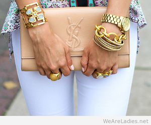 fashion, YSL, and accessories image