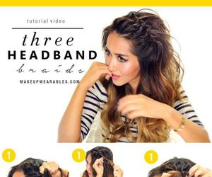 3, hairstyle, and headband image