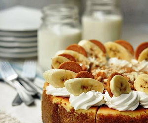 bananas, biscuits, and cakes image