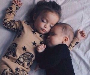 babies, naptime, and cute image