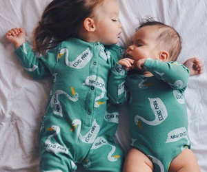 awww, green, and babies image