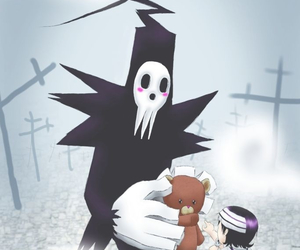 soul eater and shinigami image