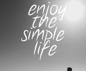 life, quote, and black and white image