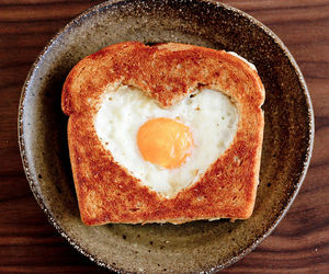 food, egg, and heart image