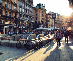 city, travel, and austria image