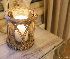 blogger, candle, and cozy image