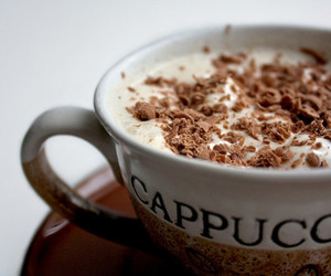 cappuccino, coffee, and drink image