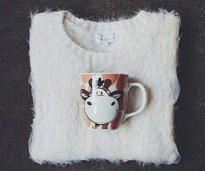coffee, fashion, and pullover image