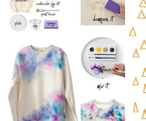diy, clothes, and sweater image